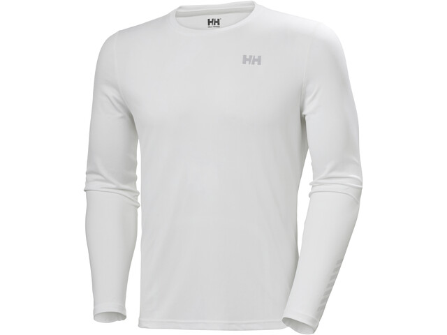 Helly Hansen Lifa Active Solen Camiseta Manga Larga Hombre, white